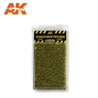 AK-8120 	Summer Green Tufts 6mm