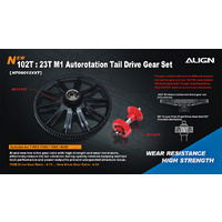 102T M1 Helical Autorotation Tail H70G012XX