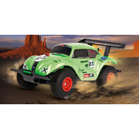 Carrera RC 1/18 VW Beetle Green Off-Road 2.4GHz w/usb Charger