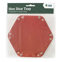 "LPG Hex Dice Tray 6"" Various"