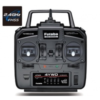 Futaba Attack 4YWD 4-Channel 2.4Ghz FHSS/R214GFE (For RC Tank/Truck)