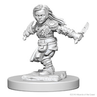 WZK72627 D&D Nolzurs Marvelous Unpainted Miniatures Halfling Female Rogue