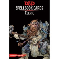 C56660000 D&D Spellbook Cards Cleric Deck (149 Cards) Revised 2017 Edition