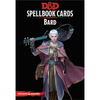 C56720000 D&D Spellbook Cards Bard Deck (110 Cards) Revised 2017 Edition
