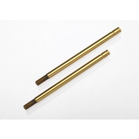 1664T Traxxas Shock Shafts, Hardened Steel Titanium Nitride Coated (Long).. 0TX1664T