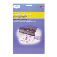 Decal Paper - Clear TT9201