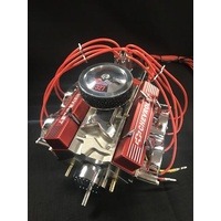 1/4 Scale V8 Nitro Powered Single Carburetor Working Engine (PREORDER)