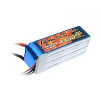 Gens Ace 4400mah 30C 22.2V Soft Case Lipo (Was:ACE-4400630) GA6S-4400-30C-S