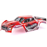HSP-70195 HSP 1/10 Wolverine BL Truck Painted Red Body Shell