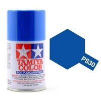 Tamiya Color For Polycarbonate: Brilliant Blue PS-30 T86030