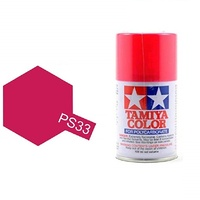 Tamiya Color For Polycarbonate: Cherry Red PS-33 T86033