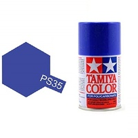 Tamiya Color For Polycarbonate: Blue Violet PS-35 T86035
