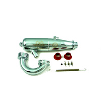 1/8 Tuned Pipe w/h Manifold-EFRA 2103 (Polished Chrome) PI-2072
