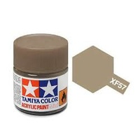 Tamiya Mini Acrylic XF-57 Buff - 10ml Bottle T81757