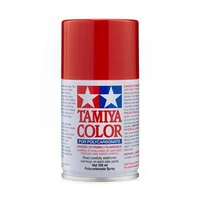Tamiya Color For Polycarbonate: Bright Mica Red PS-60 T86060