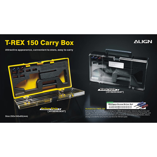 150 Carry Box-Black H15Z003XA